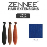 Hair Extensions 50cm Color BLUE