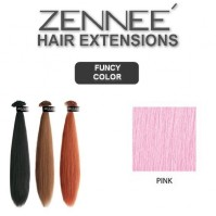 Hair Extensions 50cm  Color PINK