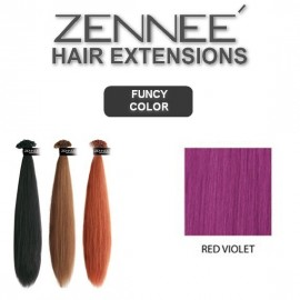 Hair Extensions 50cm  Color RED VIOLET