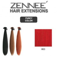 Hair Extensions 50cm Color RED
