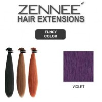 Hair Extensions 50cm  Color VIOLET