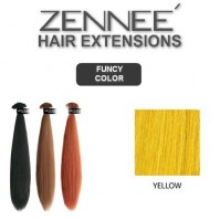 Hair Extensions 50cm  Color YELLOW