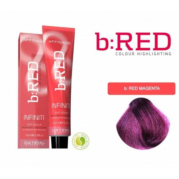 b-RED (Magenta) Infiniti Creme 100ml
