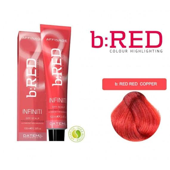 b-RED (Red - Copper) Infiniti Creme 100ml