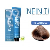 Βαφή μαλλιών INFINITI CREME 8.0 EXTRA NATURAL LIGHT BLONDE 100ml