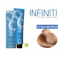 Βαφή μαλλιών INFINITI CREME 9.0 VERY LIGHT BLONDE 100ml