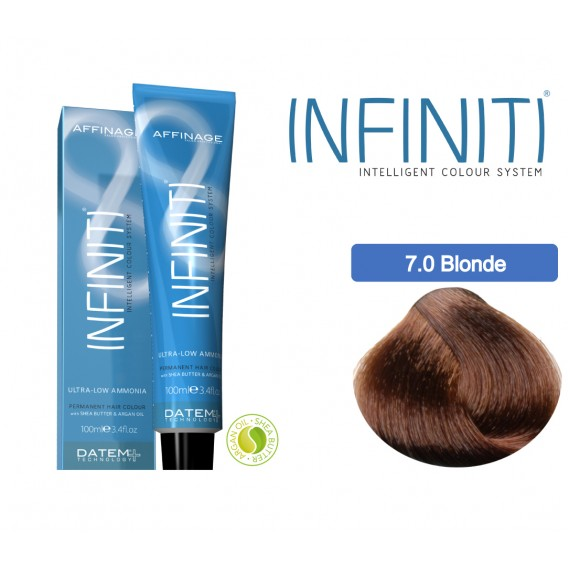 Βαφή μαλλιών INFINITI CREME  7.0 MEDIUM BLONDE 100ml